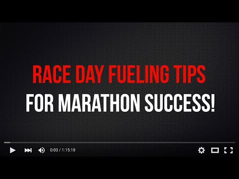 Marathon Race Day Fueling Tips [Podcast Call]