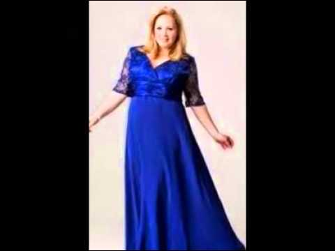 Mother Of The Bride Dresses In Plus Sizes Youtube
