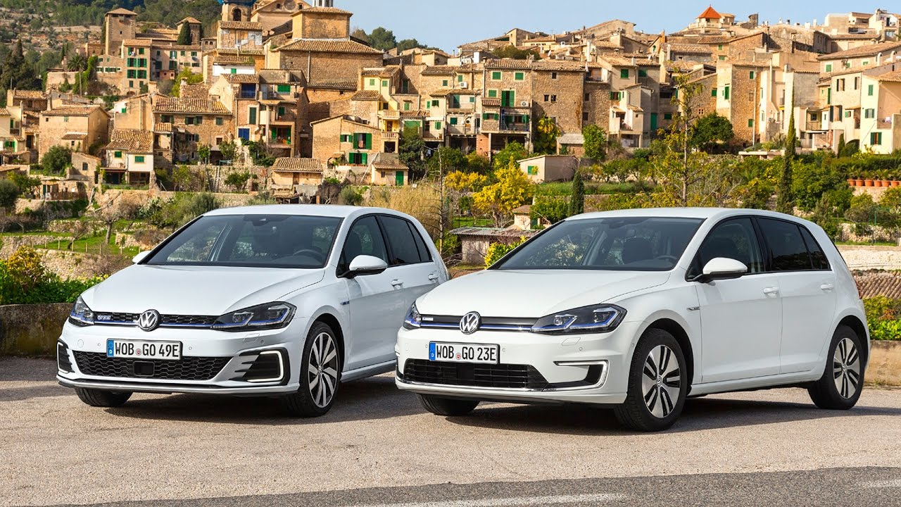 In Depth 2017 Volkswagen E Golf Electric Car Gte Plug Hybrid