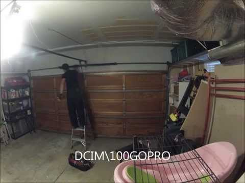 garage door, broken spring replacement, time lapse, dublin ca