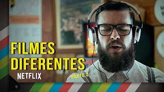 5 dicas de filmes DIFERENTES na NETFLIX PARTE 2