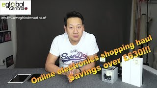eglobal central uk review shopping haul how to save money