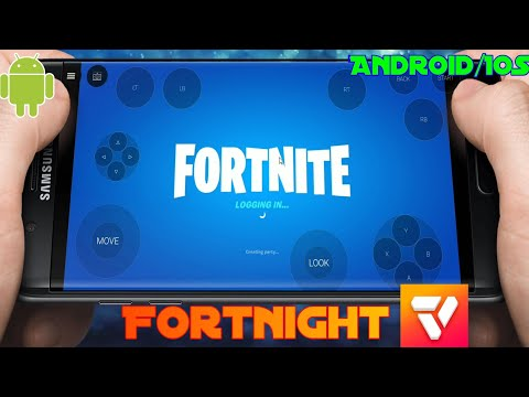 Fortnight PC For Android/IOS Ll Vortex Cloud Gaming L Full GamePlay MOBILE PC
