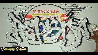 Graffiti Persija Jakarta