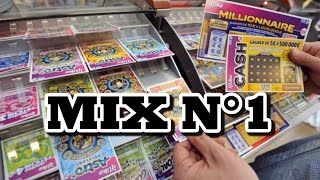 MIX N°1 GRATTAGE DE TICKETS FDJ/ILLIKO