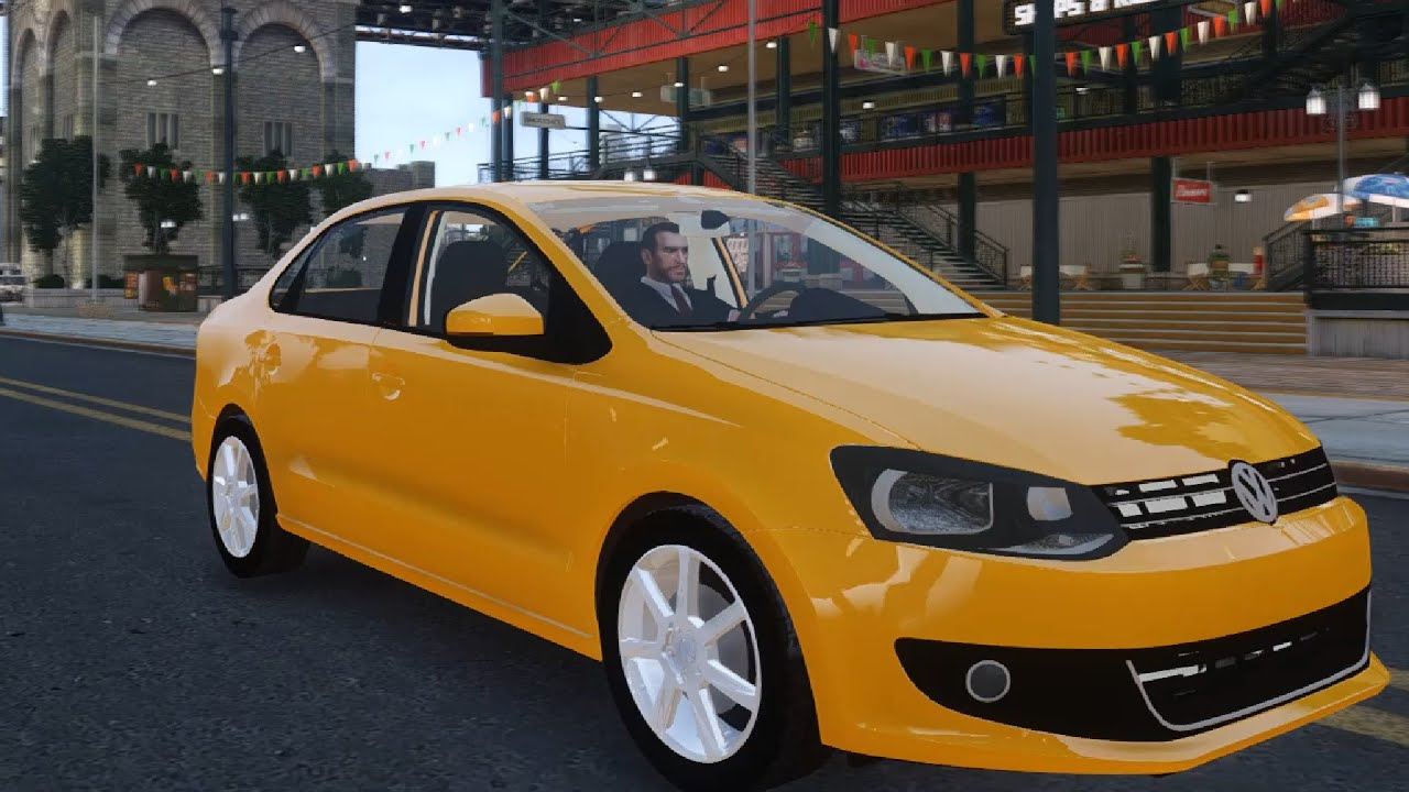 volkswagen polo sedan gta iv youtube. Black Bedroom Furniture Sets. Home Design Ideas