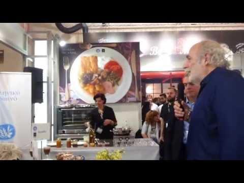 Presentation of the Greek breakfast of Lefkada