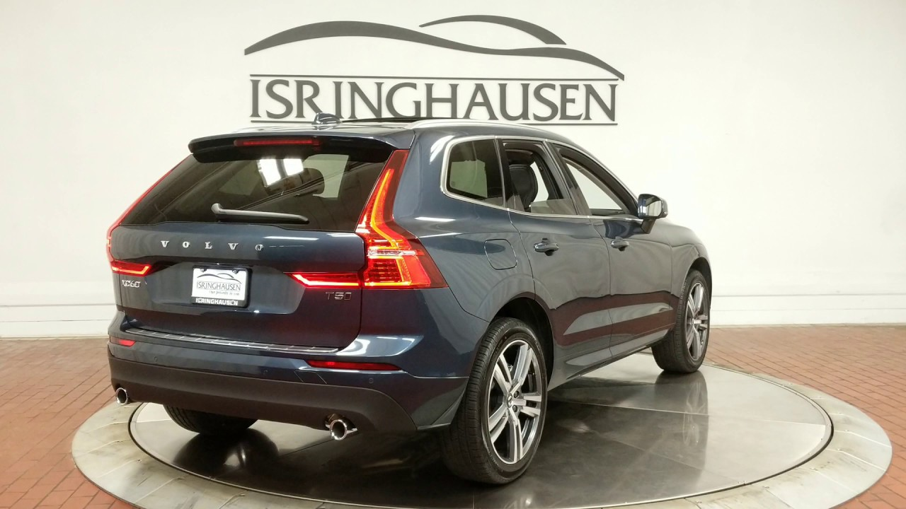 2020 Volvo Xc60 Momentum In Denim Blue Metallic 421381 Youtube