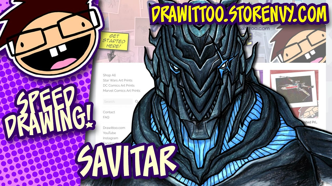 New Art Store Also Colouring Savitar Draw It Too