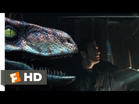 The Lost World: Jurassic Park 610 Movie   Raptor vs. Gymnast 1997 HD