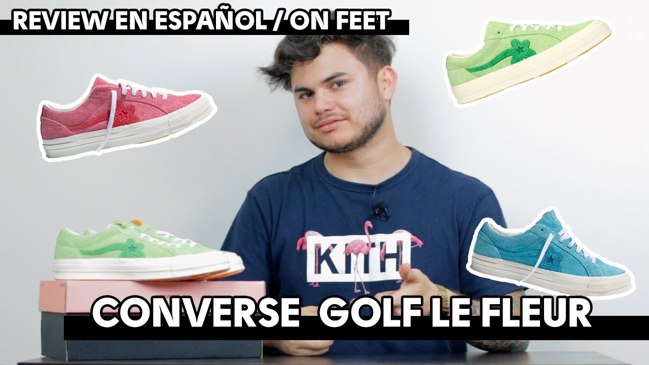 converse golf le fleur hombre