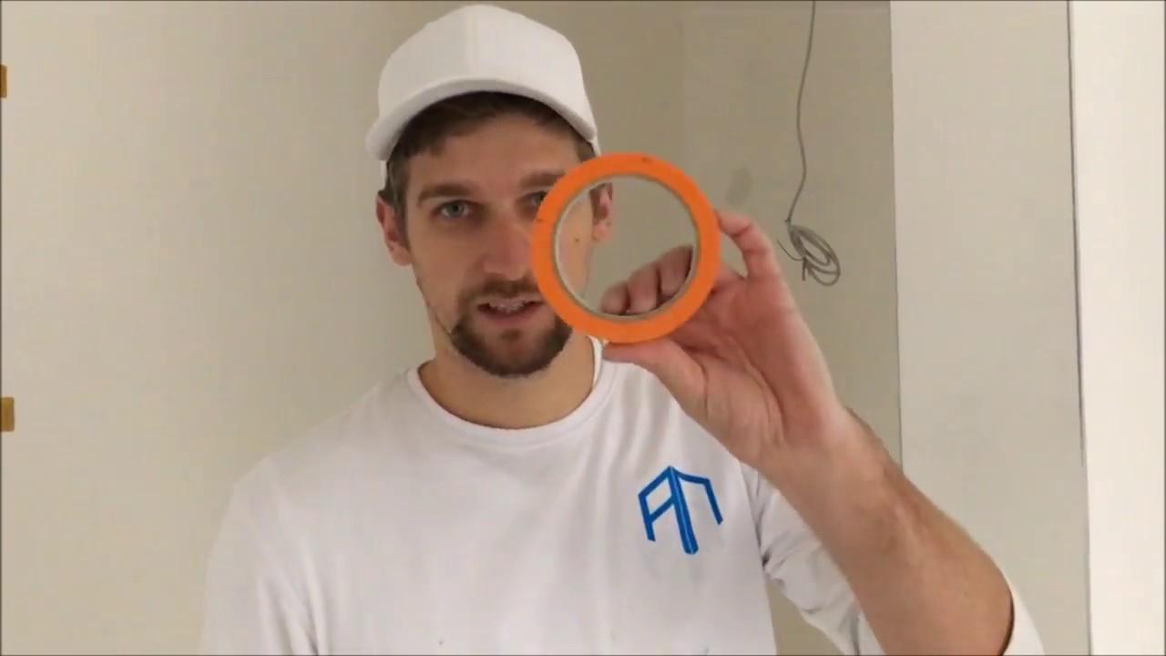 steckdosen richtig abkleben - vom wandprofi erklärt - youtube