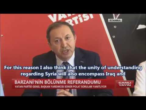 "Soner Polat- Press Release ""Astana & Independent Kurdistan Referendum"""