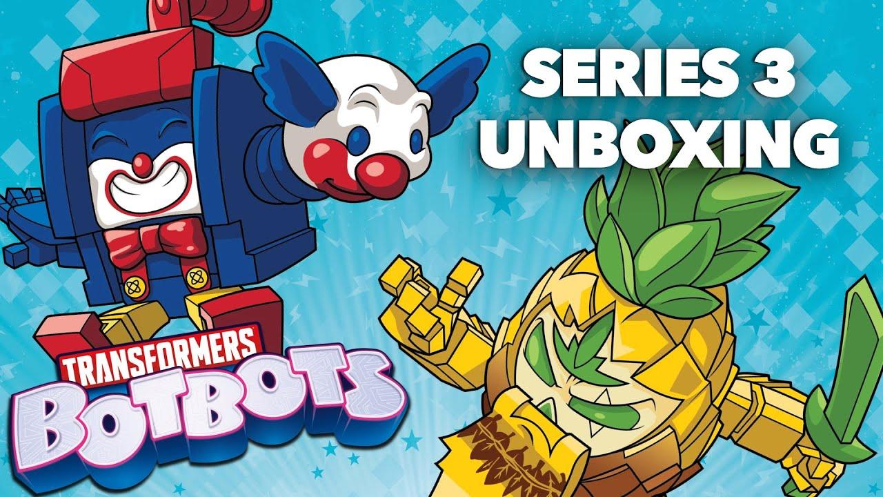 Transformers botbots SERIE 4 a sorpresa con l/'unboxing Artiglio Macchina