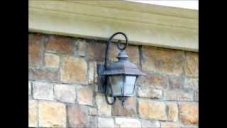 Outdoor Sconces For Homes - Wall Sconces, House Building. Custom Homes. Home Plans Home Depot