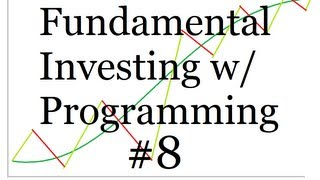 All Russell 3000 symbols p.2 - Using Programming for Fundamental Investing Part 8