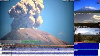 10/6/2019 12:00 WITA - Mt Agung Erupted