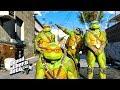GTA 5 - Teenage Mutant Ninja Turtles Movie