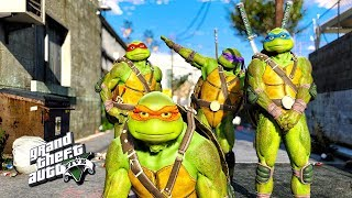 GTA 5 - Teenage Mutant Ninja Turtles Movie