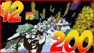 12 vs 200 FAN BATTLE!!!! w/ TheProVidz