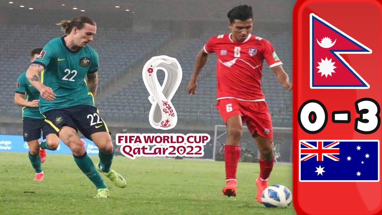 Download Nepal🇳🇵VS Australia 🇦🇺 Highlights (0-3) | World Cup Qualifier 2022 | Full Highlights & Goals HD