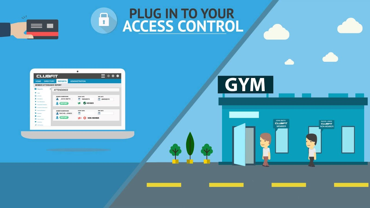 ClubFit - Cloud Based Gym Management Software - YouTube