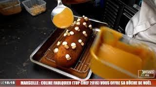 Le 18:18 - La cheffe marseillaise Coline Faulquier vous détaille la recette de sa bûche de Noël