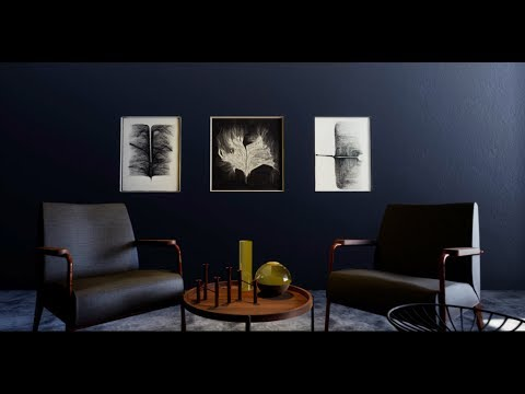 UE4 Archviz Tutorial: Freeset scene + Free download source file