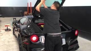 A Date With The Ferrari F12 Rear Bumper Youtube
