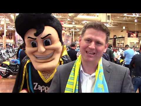 LV Lights FC unveil mascot Cash the Soccer Rocker