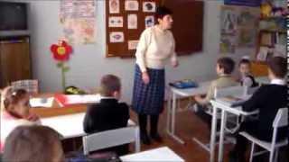 """Пелипенко Т.И.Урок английского языка во 2м классе по теме """"Части тела""""."""