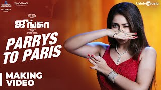 Junga | Parrys To Paris Song Making Video