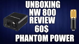 nw 800 cheap full microphone setup for under 60 unboxing and review