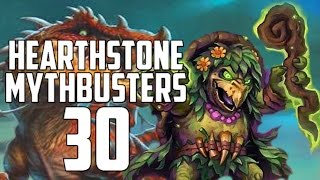 Hearthstone Mythbusters 30 - UNGORO SPECIAL