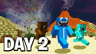 Last To Survive Natural Disasters, Wins $1000 - Minecraft Challenge