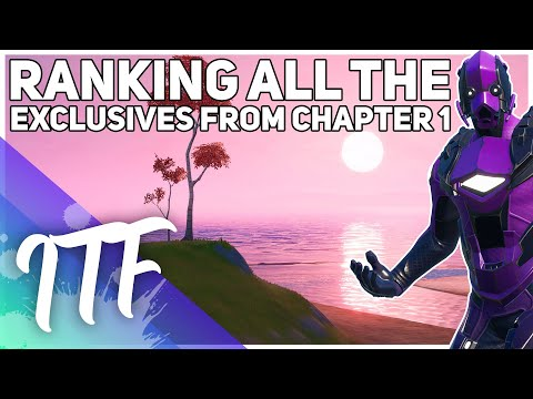Ranking Exclusive Fortnite Skins WORST To BEST! [Chapter 1 Skin List] (Fortnite Battle Royale)