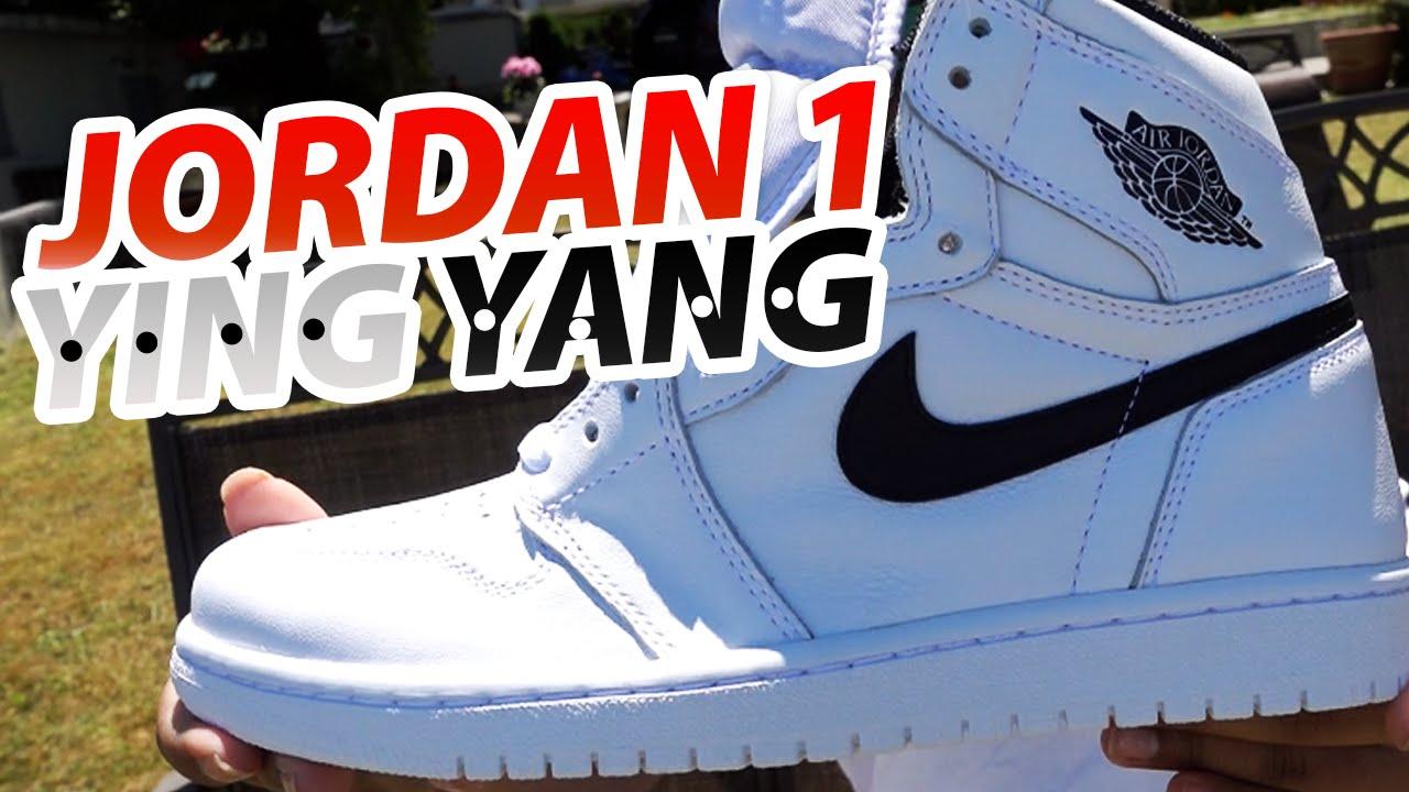8b9504f4c39c UNRELEASED Air Jordan 1 Ying Yang - YouTube