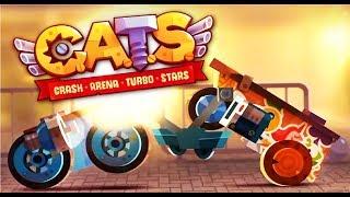 C.A.T.S Crash Arena Turbo Stars #10 Мультик игра про котиков конструкторов боевых машин Мульт ИГРА