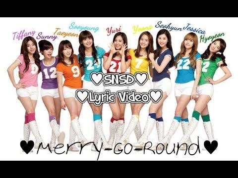 SNSD Lyric Video - Merry-Go-Round