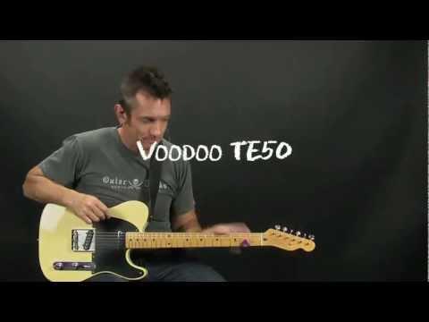 Voodoo TE50 vs Wilde Keystones Telecaster Pickup Shootout