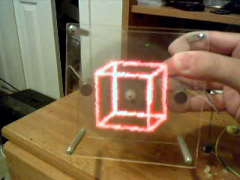 Most Awesome POV (Persistence of Vision) Display - YouTube