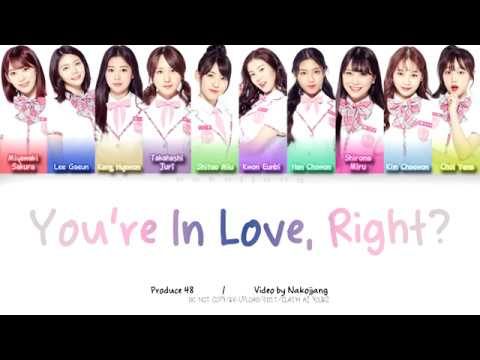 PRODUCE48 - You're In Love, Aren't You? 반해버리잖아? (好き