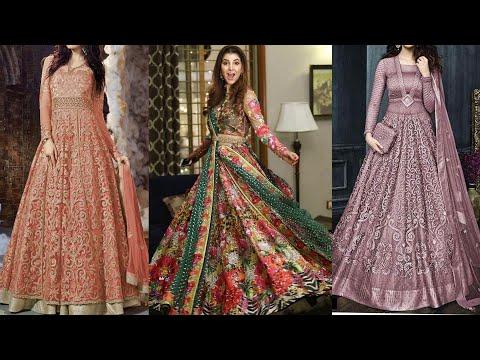 Pakistani And Indian Designer Lehnga Maxi Dresses 2019