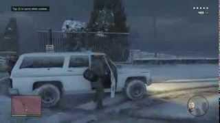 GTA V - Gameplay Filtrado de una mision (100% Real)