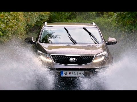 real offroad test kia sportage 4x4 youtube. Black Bedroom Furniture Sets. Home Design Ideas