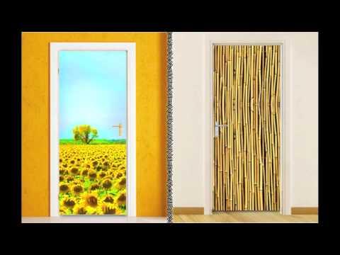 Αυτοκόλλητα Πόρτας-Houseart.gr