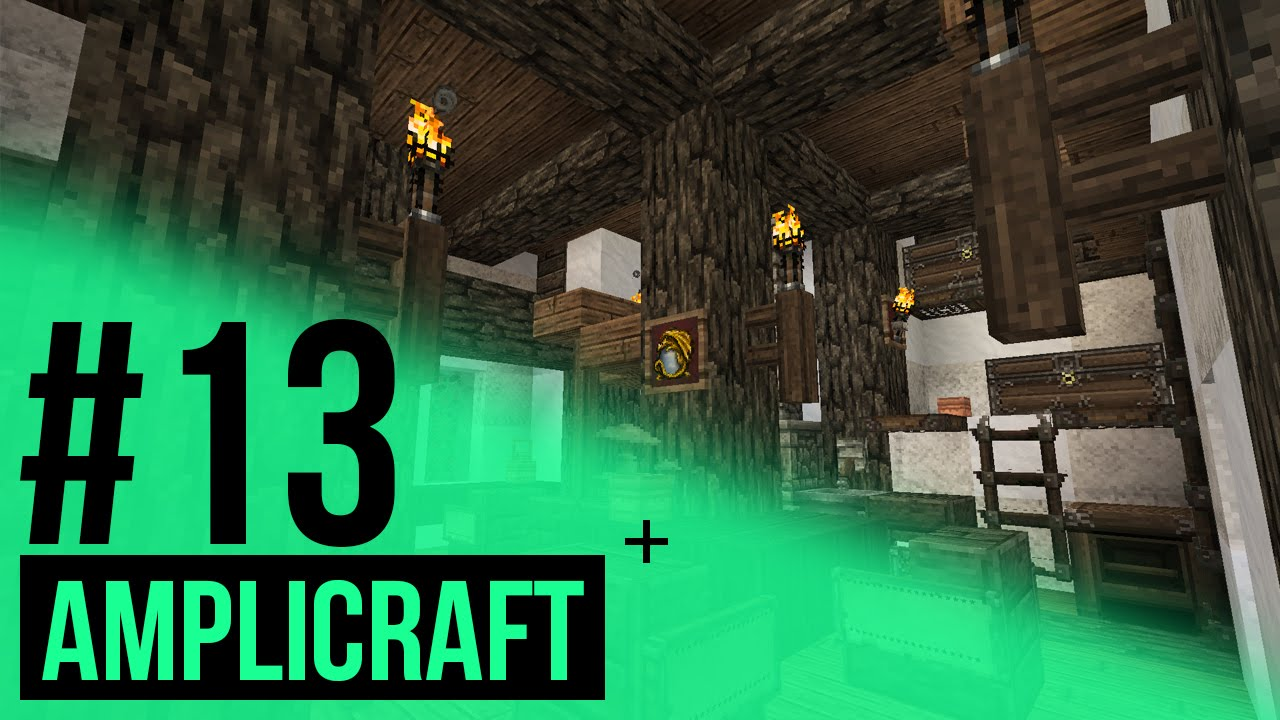 minecraft amplicraft 13 d co int rieur youtube. Black Bedroom Furniture Sets. Home Design Ideas