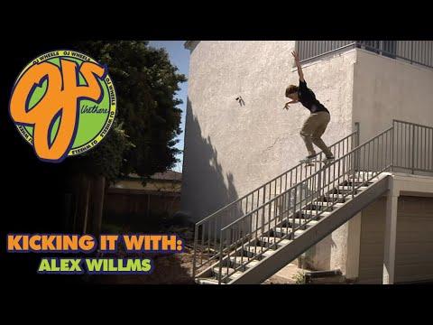 Big Day in the Streets! Kicking it With: Alex Willms | OJ Wheels