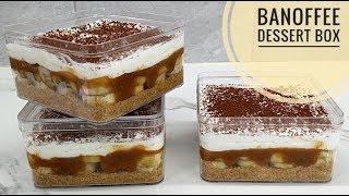 Resep banoffee dessert box