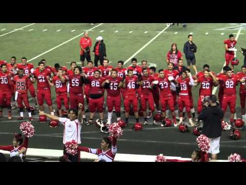 Kahuku High Football Alma Mater in 4K